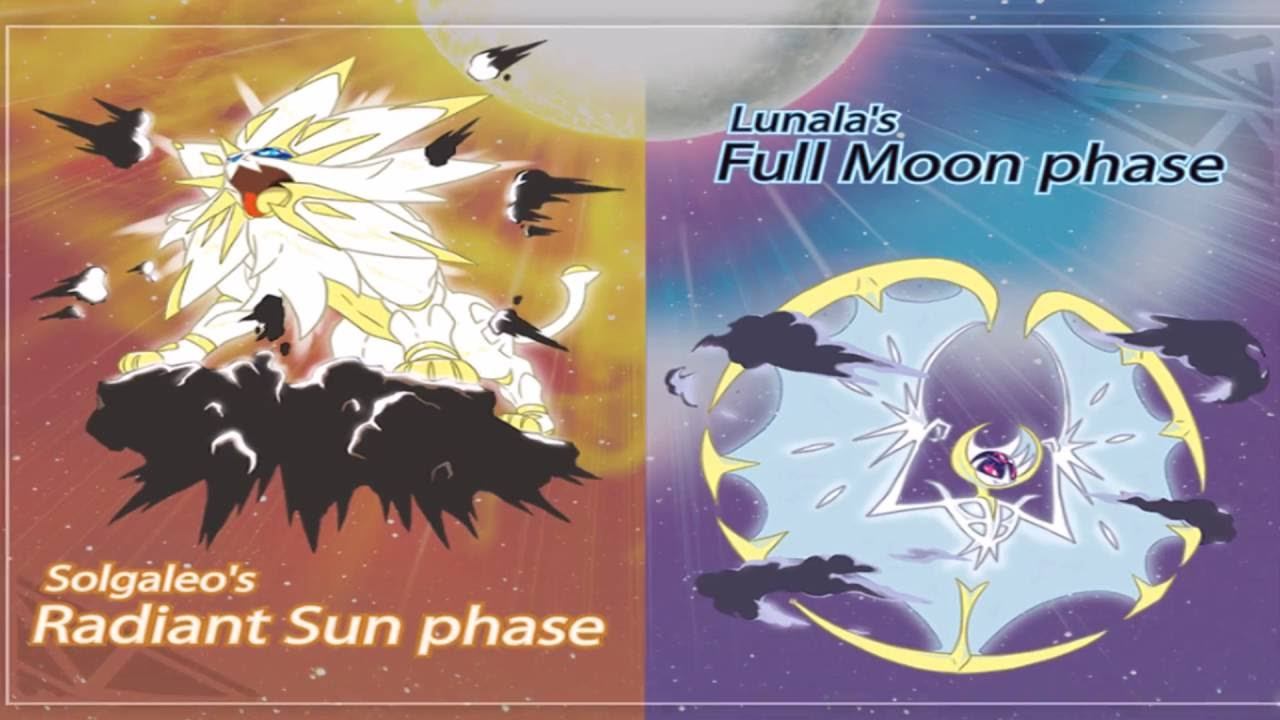 New Forms of Solgaleo and Lunala - Pokemon Sun and Moon News - YouTube