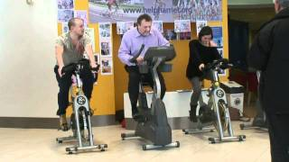 Sam & Amy Heart FM Support Harriet Cycle Event