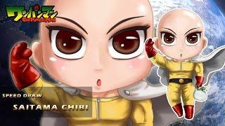 Speed Drawing Saitama Chibi™ [One Punch Man]