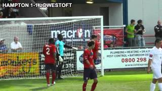 Match Highlights: Hampton and Richmond Borough 1-1 Lowestoft Town