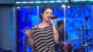 Selena Gomez- A year without rain on good morning america 9/23/10