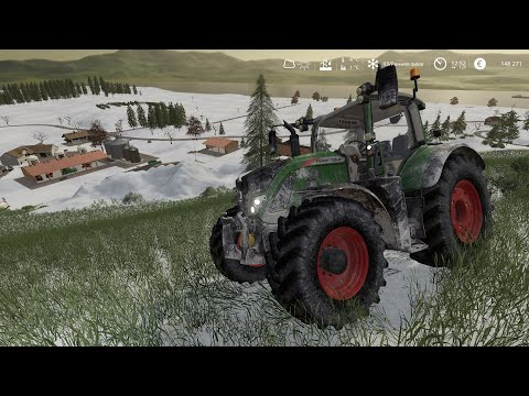 Farming Simulator 19 Seasons. Сезоны (времена года).