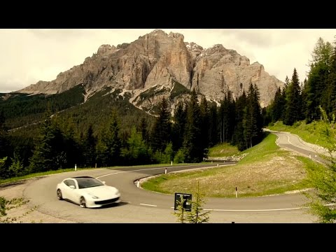 Ferrari GTC4 Lusso In The Mountains - Top Gear Magazine