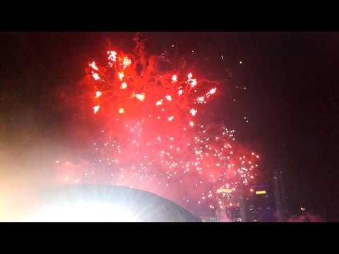 Marina Bay Countdown 50 anniversary of Mediacorp (Firework Live)