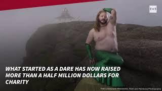 Mermen calendar targets 'toxic masculinity,' raises big money for charities