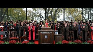 Inauguration of the 19th President of Brown University