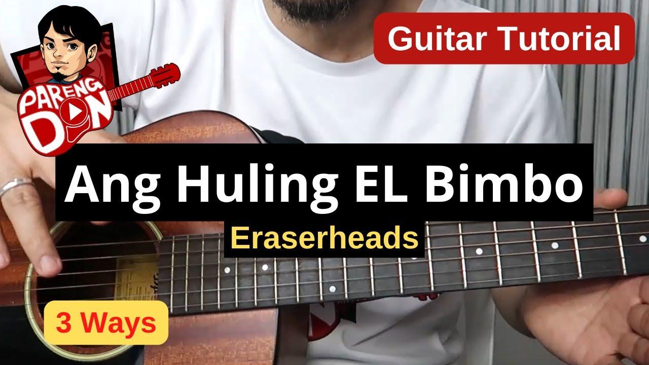 ang huling el bimbo chords pdf