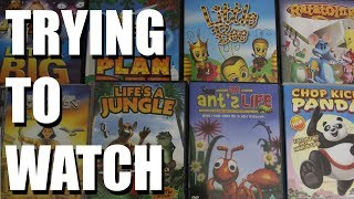 Trying To Watch: The (NOT DREAMWORKS) Collection