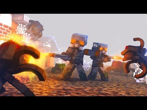 "Minecraft сериал: ""ЯДЕРНЫЙ УДАР"" - 4 серия"