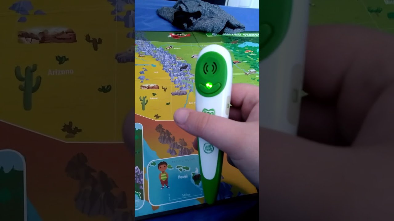 2010 Leapfrog Tag Interactive United States Map - YouTube