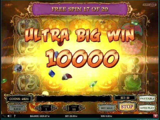 Happy Halloween Ultra Big Win