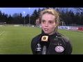 PSV Ajax  ook bij de vrouwen een clash