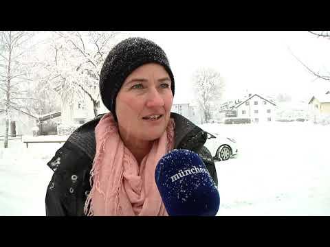 Schneechaos - München und Umland kämpfen mit Schneemassen
