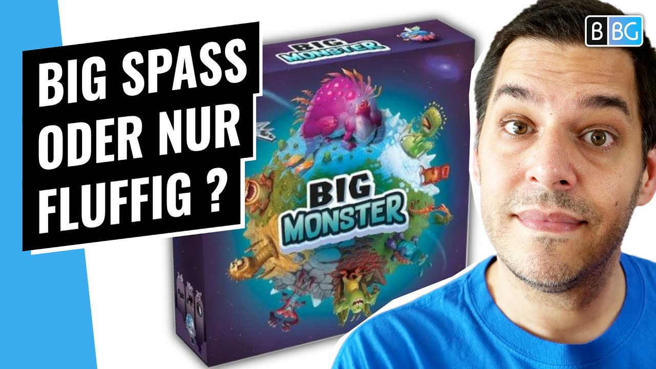 Big Monster 👾 Rezension / Test [Brettspiel]