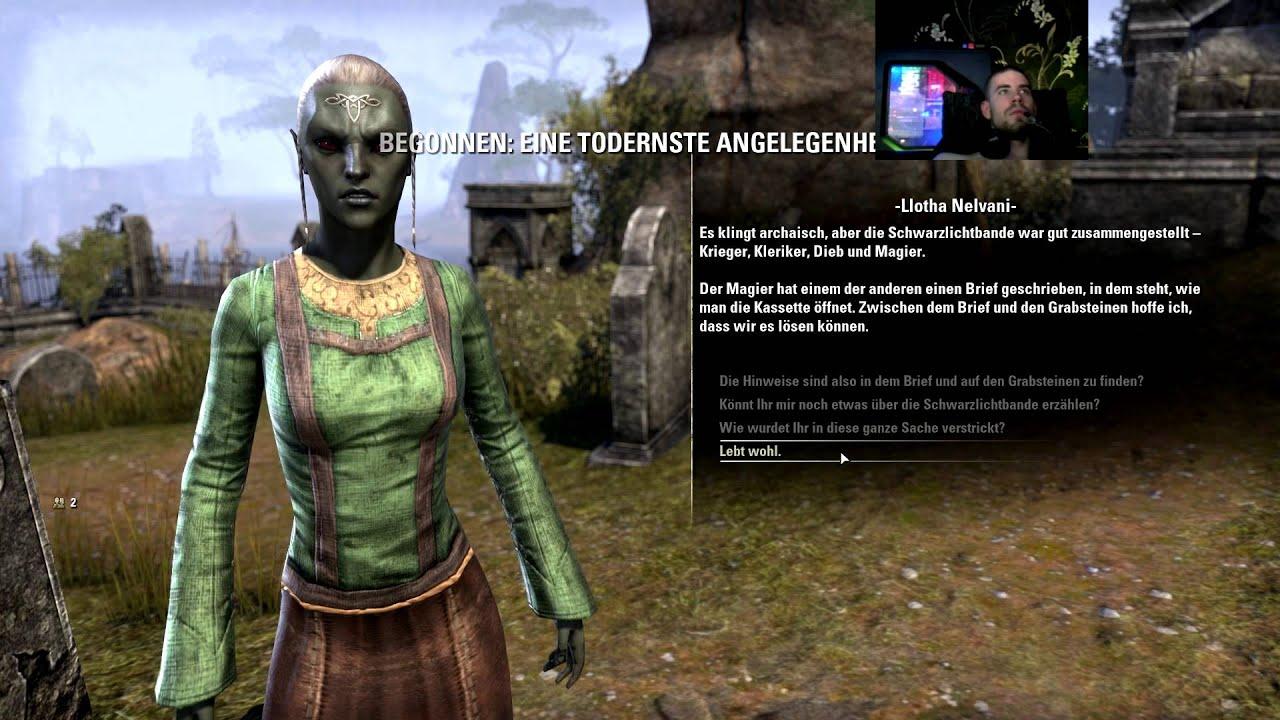 The Elder Scrolls Online Quest Tutorial - Eine todernste