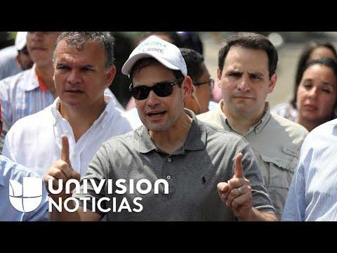 """""""El régimen de Maduro no es un gobierno, es una mafia"""": Marco Rubio tras su visita a Cúcuta"""