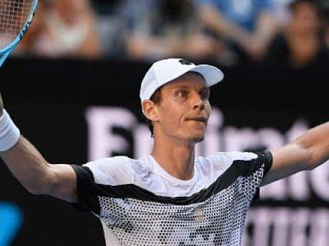 !AMAZING¡  Australian Open R2 Tomas Berdcyh vs Robin Haase