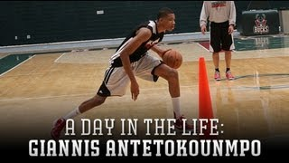 A Day In The Life Of Giannis Antetokounmpo