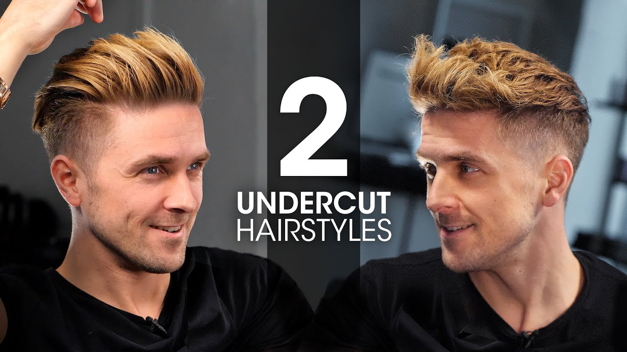 2 QUICK & EASY Undercut Hairstyles For Men | Men's Hair Tutorial