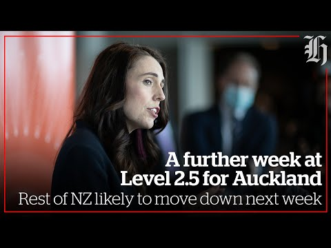 Another week at level 2.5 for Auckland, rest of NZ likely to move down next week | nzherald.co.nz