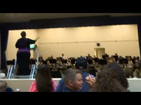 Vidor Middle School Spring Concert May 2015