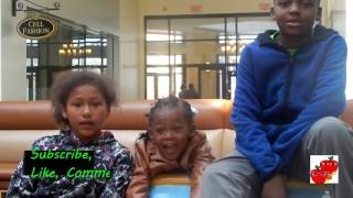 Meet The baby Robinsons!!!! A blend vlog #2 Siblings fight(man stealing at dollar tree)l!!
