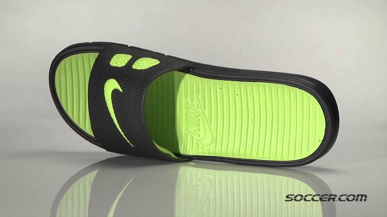 1cb236cb3d8 66043 Nike Benassi Solarsoft Slide - YouTube