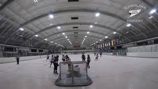 20181006 U14 Carolina Lady Eagles vs U16 Delco Phantoms girls ice hockey highlights
