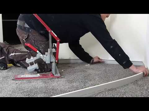 Teppich Verlegen Sockelleisten Montieren Im Grossraum Stuttgart Youtube