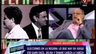 ANALISIS MARIO WAINFELD - ELECCIONES BRASIL Y URUGUAY - 23-10-14