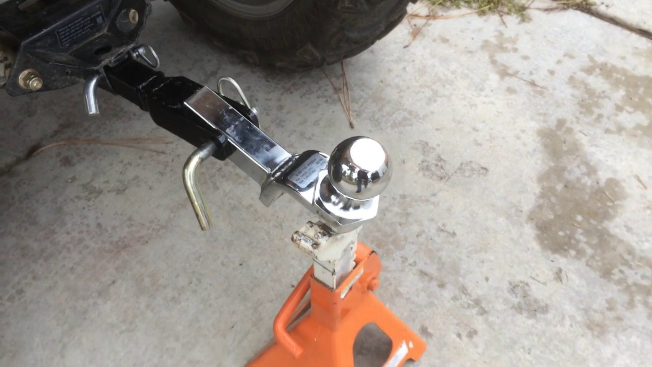 VID 2 - ATV Small pull behind utility trailer with ...