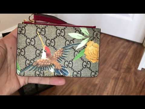Gucci Tian key pouch unboxing