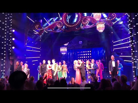 Standing Ovation STRICTLY BALLROOM Piccadilly Theatre Baz Luhrmann Opening Night Curtain Call
