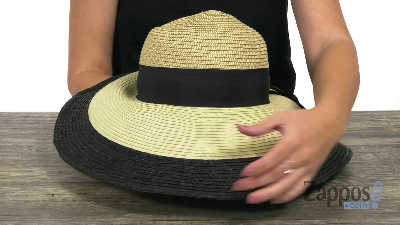 Vince Camuto Color Block Wide Brim Floppy Hat SKU  9117446. Shop Zappos 105385e138b