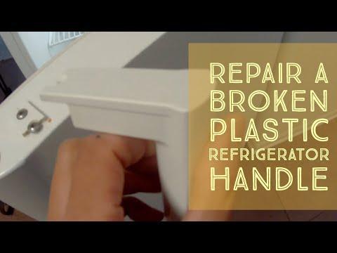 How To Repair A Broken Refrigerator Handle