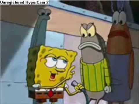 Spongebob Sings Just Lose It Eminem