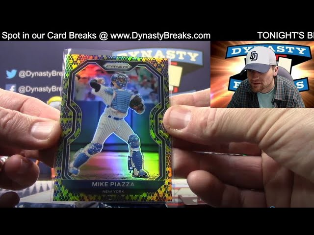 2021 Prizm Baseball Card 4 Box Partial Case Break #6   Sports Cards
