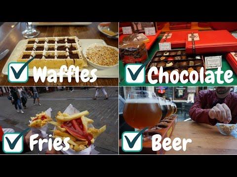 BRUSSELS, Belgium ll Waffles, Chocolate, Fries & Beer 🤤