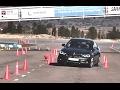 BMW 320d Gran Turismo 2016 - Maniobra de esquiva (moose test) y eslalon | km77.com
