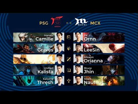 En Psg Vs Mcx Grand Finals G1 Pcs Summer 2020 Psg Talon Vs Machi Esports Youtube