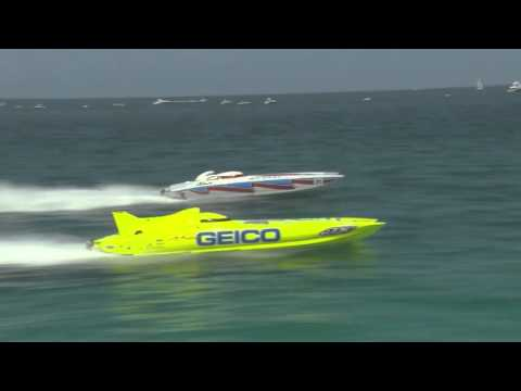 On the Water with Miss Geico Racing