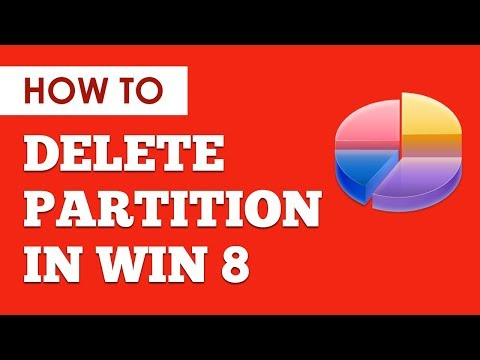 Delete Partition In Windows 8 | Easily Delete Partition / Drive And Reclaim Memory Windows 8