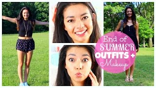 End of Summer OUTFITS + MAKEUP ♡ 50VoSummer Thumbnail