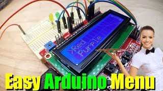 Arduino Keypad Shield Menu System