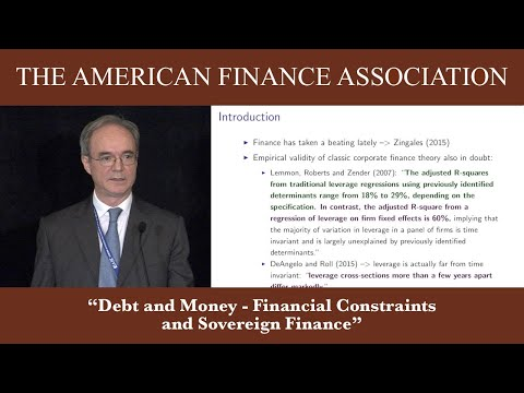 Debt and Money - Financial Constraints and Sovereign Finance