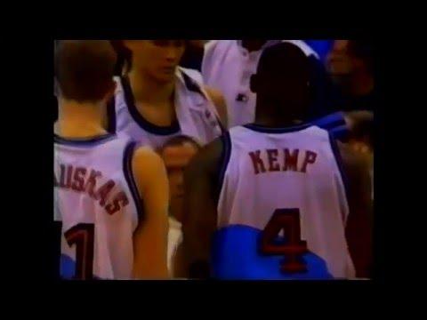 Shawn Kemp - Grizzlies at Cavs - 1998