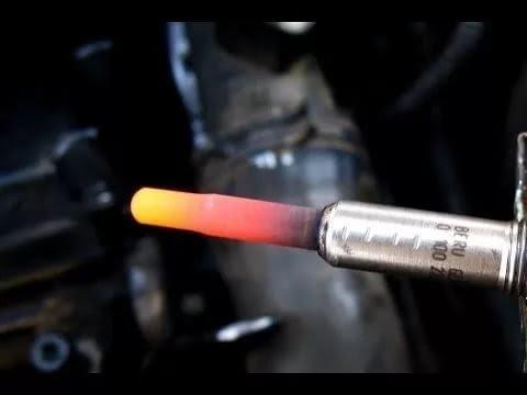 Как точно проверить свечи накала (дизельный мотор)