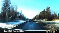 Lielahden Prisma - Tesoma autokamerakuvaa Tampereelta
