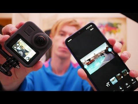 GoPro MAX: Full Mobile Workflow Tutorial