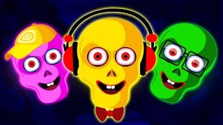 Learn Colors With Funny Face   Finger Family Songs & Nursery Rhymes With Mini and Len